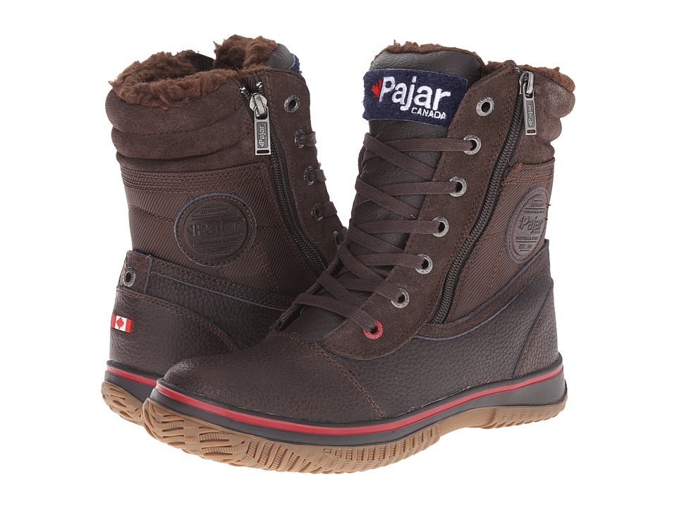 Pajar CANADA Trooper Dk Brown Mens Boots