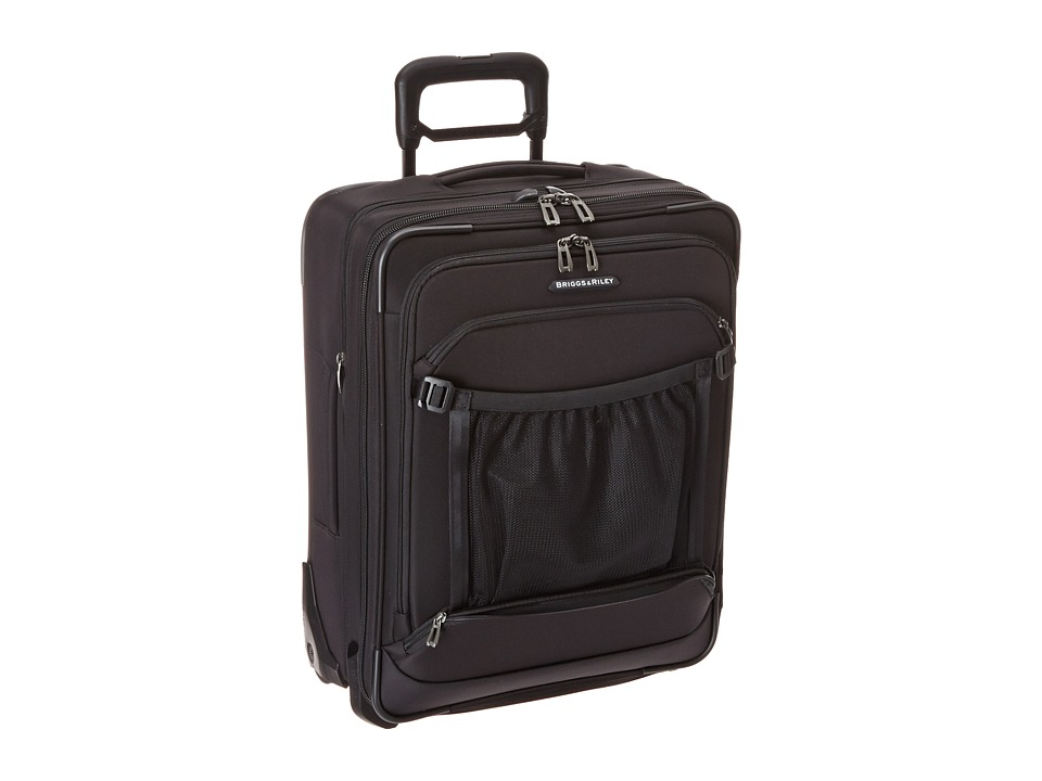 Briggs & Riley - Transcend International Carry-On Expandable Wide-Body Upright (Black) Carry on Luggage