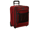Briggs & Riley Transcend International Carry-On Expandable Wide-Body Upright (Crimson Red)