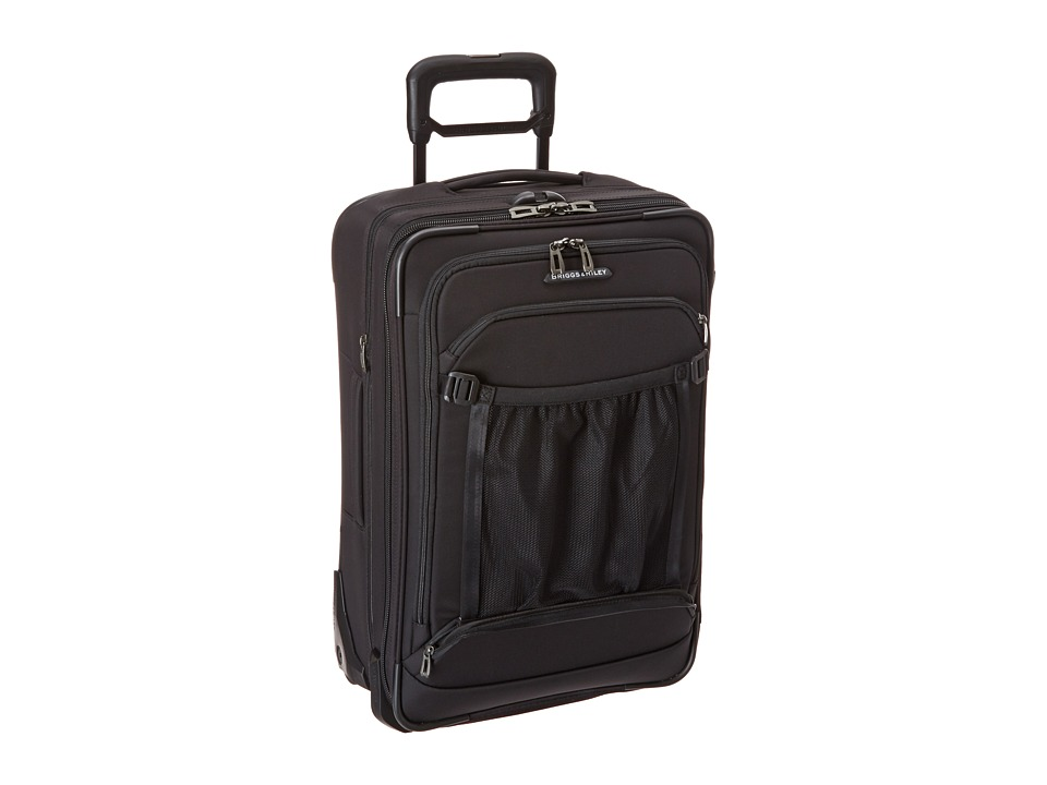 Briggs & Riley - Transcend Domestic Carry-On Expandable Upright (Black) Carry on Luggage