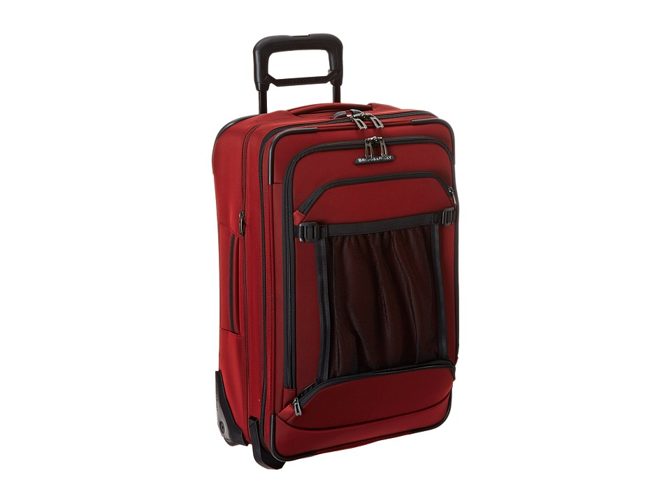 Briggs & Riley - Transcend Domestic Carry-On Expandable Upright (Crimson Red) Carry on Luggage