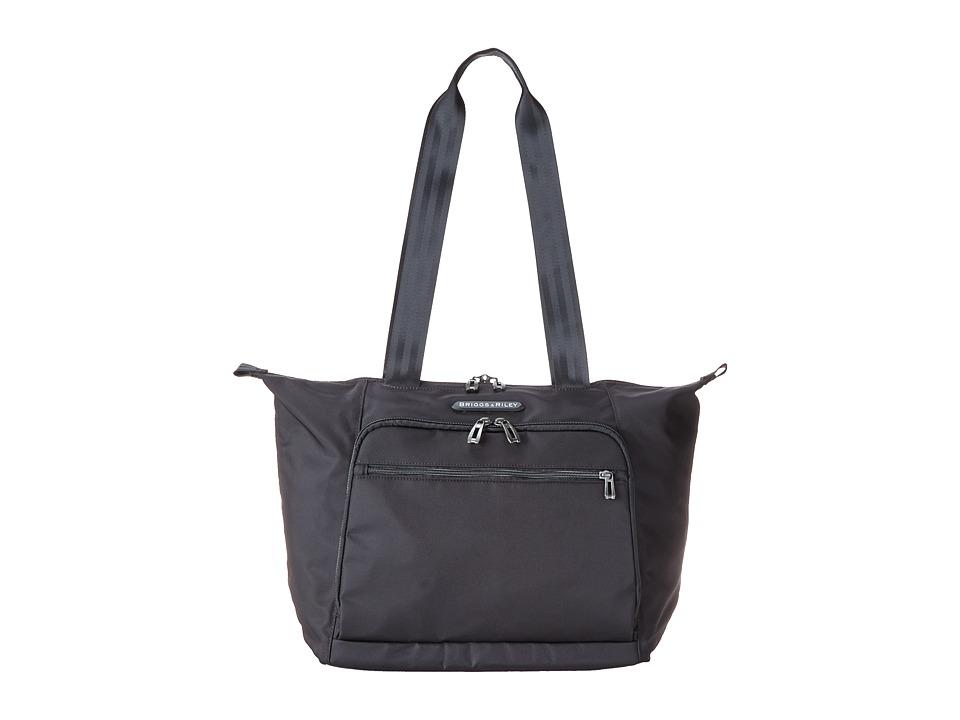 Briggs amp Riley Transcend Shopping Tote Black Tote Handbags