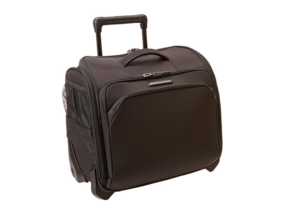 Briggs & Riley - Transcend Rolling Cabin Bag (Black 1) Carry on Luggage