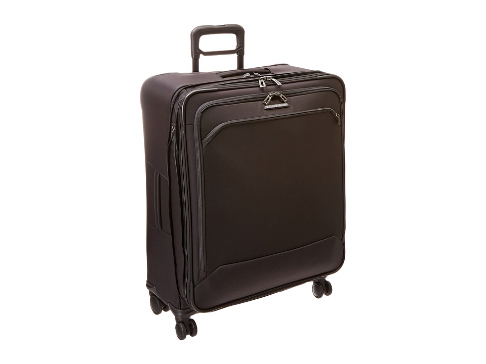 Briggs amp Riley Transcend Large Expandable Spinner Black Luggage