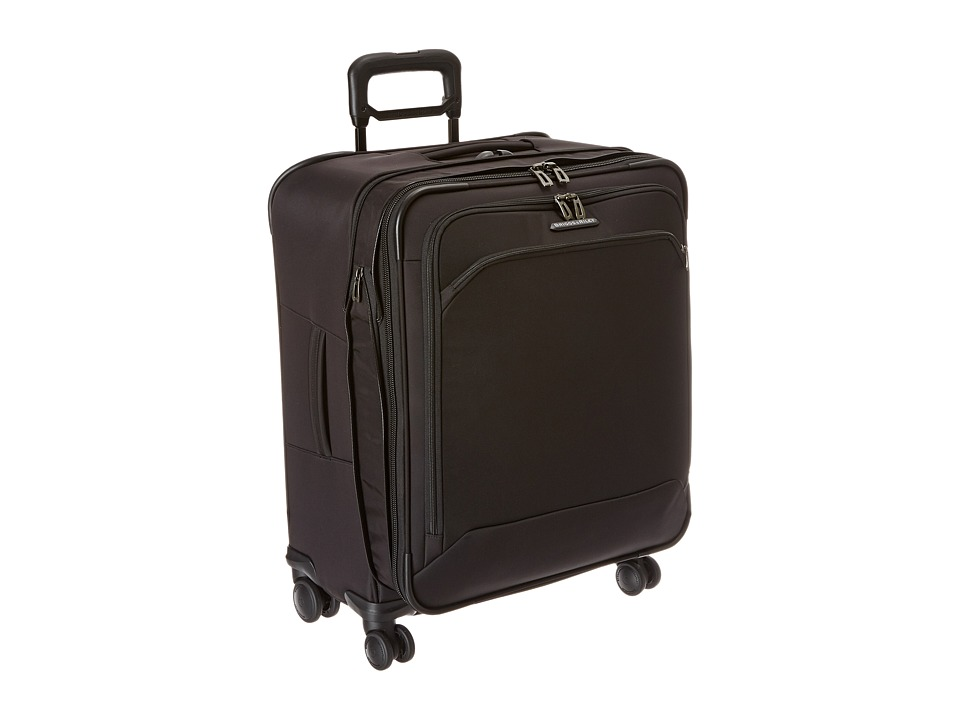 Briggs & Riley - Transcend Medium Expandable Spinner (Black) Luggage