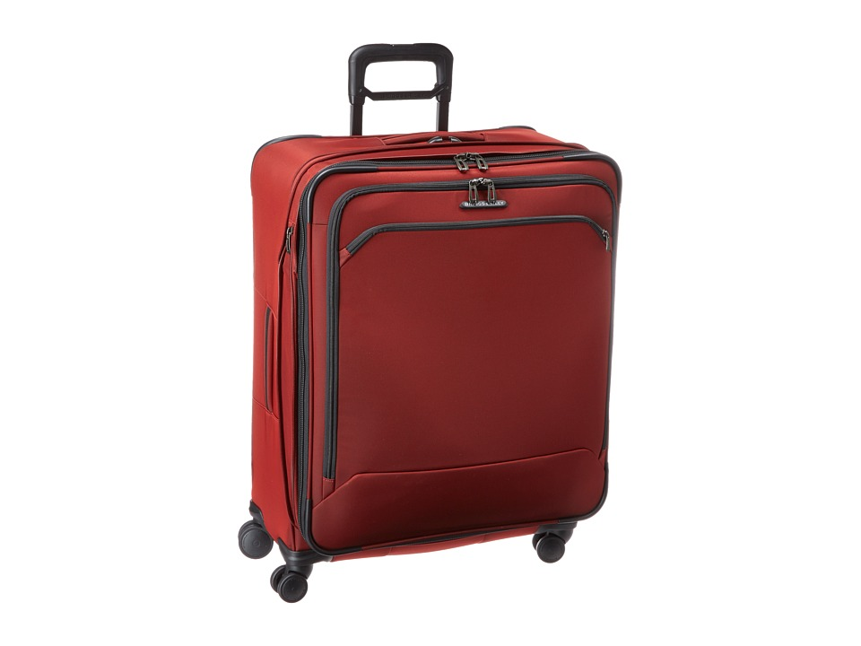 Briggs amp Riley Transcend Large Expandable Spinner Crimson Red Luggage
