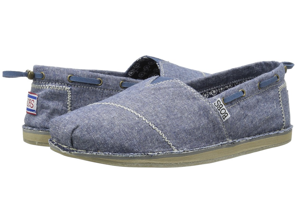 BOBS from SKECHERS Bobs Chill Denim Daisy Denim Womens Flat Shoes
