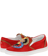 DSQUARED2 - Embroidered Slip-on Sneaker