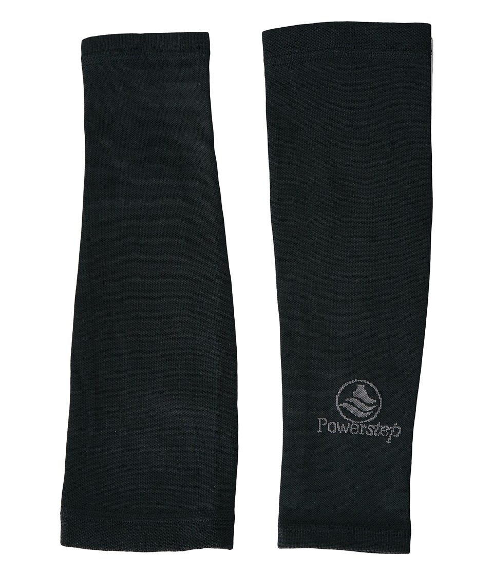 Powerstep Performance Compression Sleeves Black Mens Workout