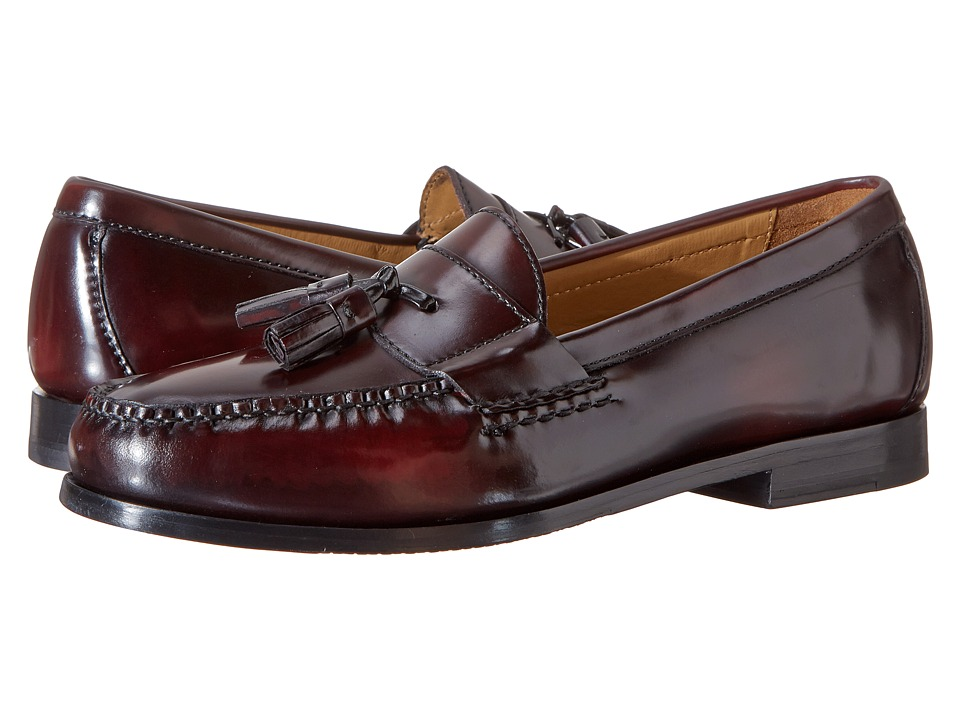 Cole Haan Pinch Grand Tassel (Burgundy) Men