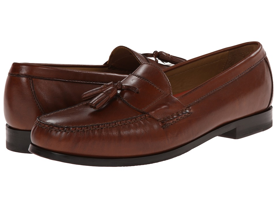 Cole Haan Pinch Grand Tassel (Papaya) Men
