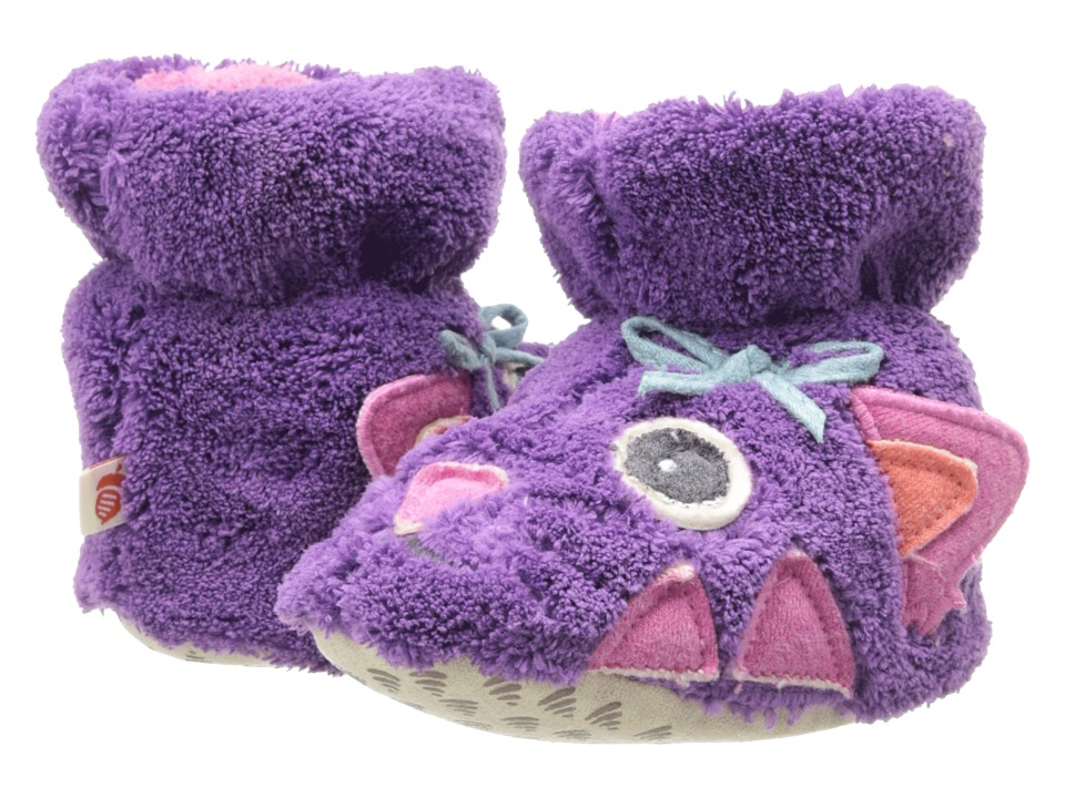 Acorn Kids Easy Critter Bootie Infant/Toddler Kitty Girls Shoes