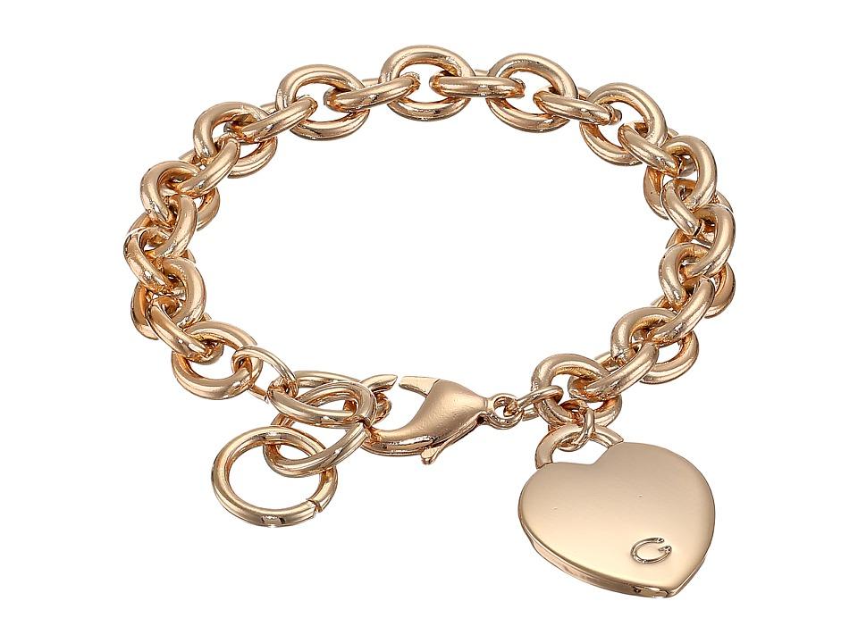 GUESS - Heart Bracelet (Rose Gold) Bracelet