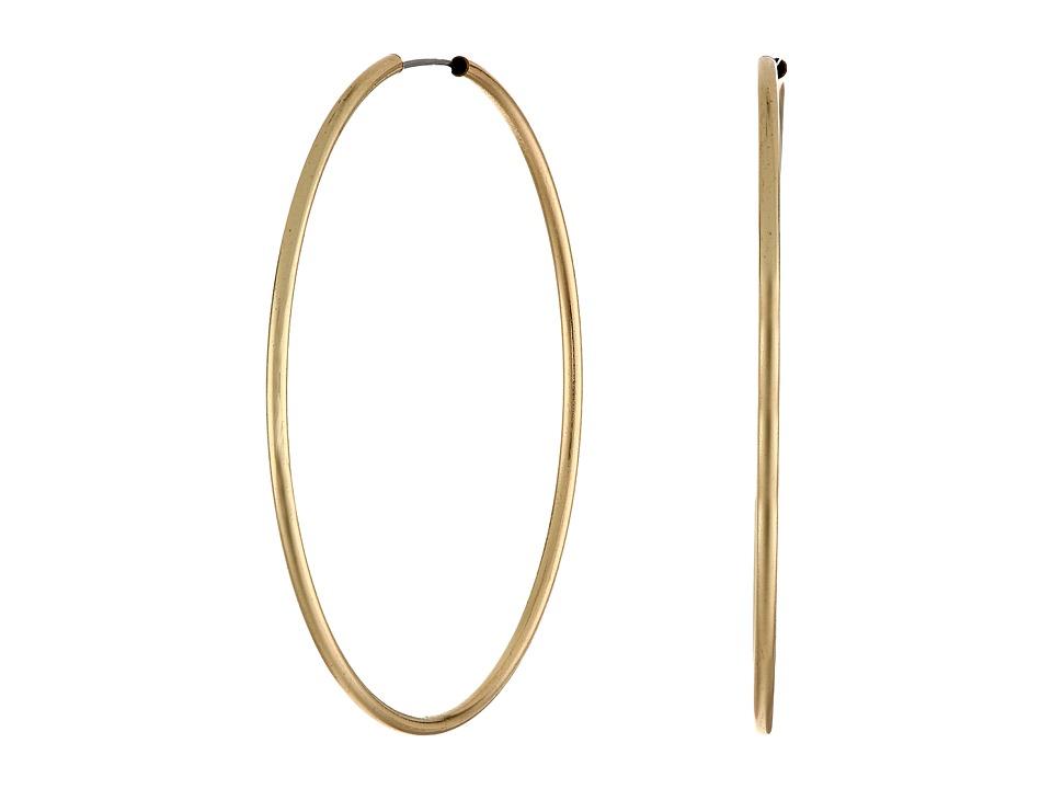 GUESS - Large Hoop Earring (Gold) Earring