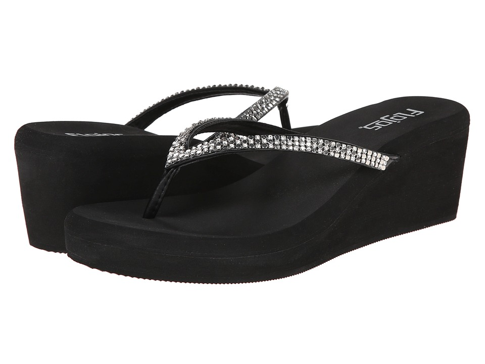 Flojos Carley Black Womens Shoes