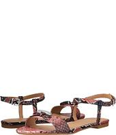 Armani Jeans - Snakeprint Ankle Strap Sandal