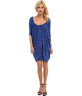 Tbags Los Angeles - Drape Overlay Bodycon Dress