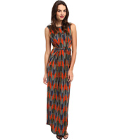 Tbags Los Angeles - Sleeveless Maxi w/ Waist Cutout