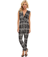 Tbags Los Angeles - Sleeveless Jumpsuit w/ Cutout Back