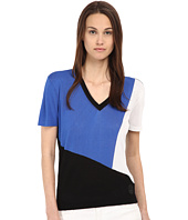 Armani Jeans - Color Block V-Neck Tee
