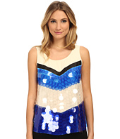 Armani Jeans - Color Block Sequin Tank