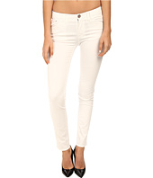 Armani Jeans - Slim Fit Cotton Satin Jean in White