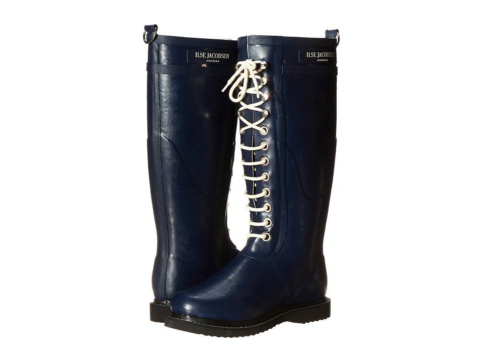 Ilse Jacobsen Rub 1 Indigo Womens Boots