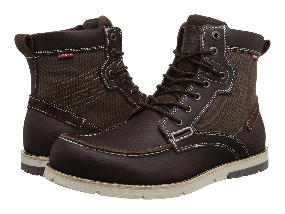 Levis(r) Shoes - Dawson (Burgundy) Mens Lace-up Boots