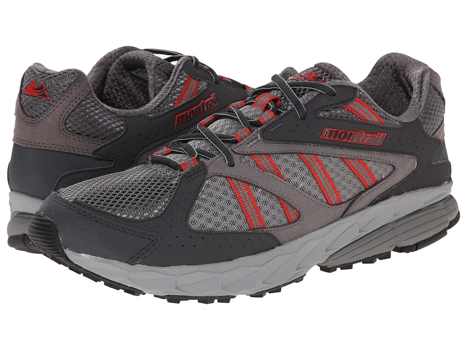 Montrail Ferocity Boulder/Sail Red Mens Shoes