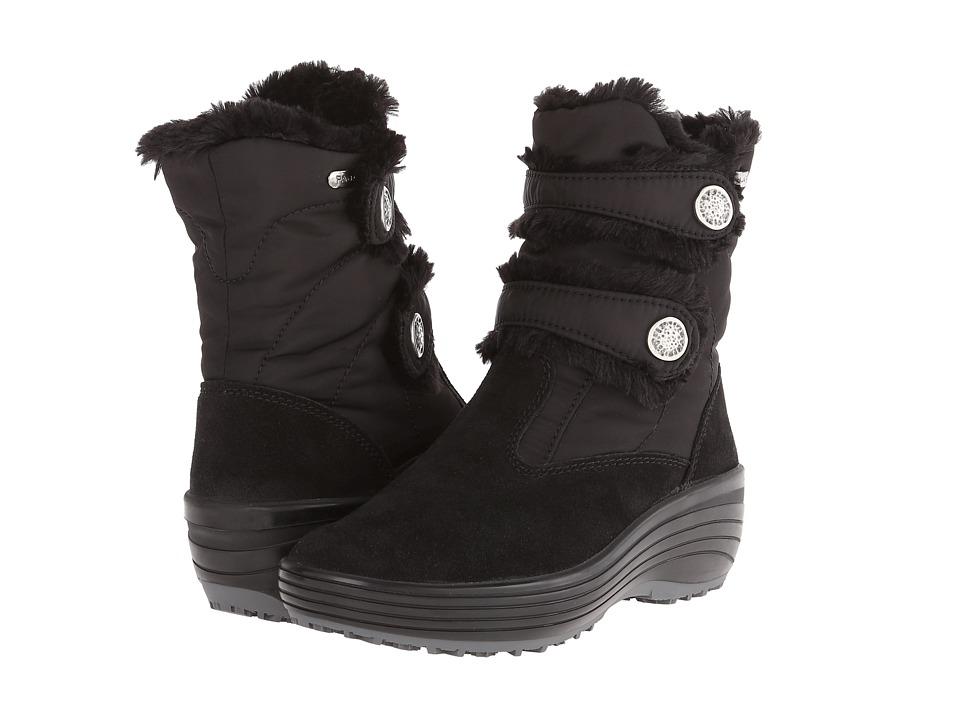 Pajar CANADA Caroline Black/Black Womens Boots