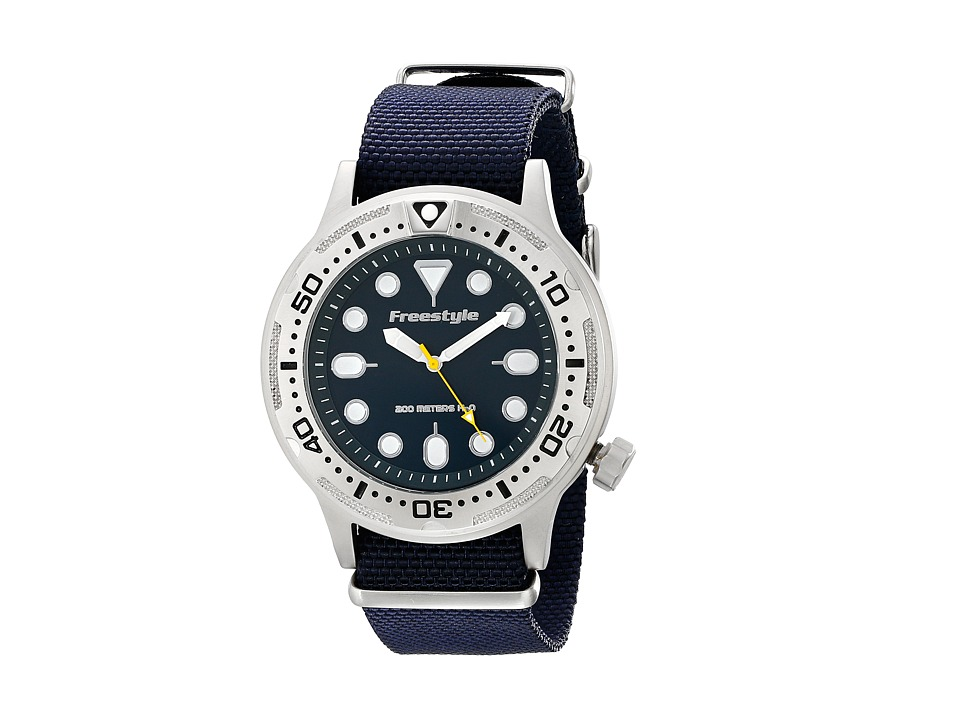 Freestyle Ballistic Diver Blue Watches