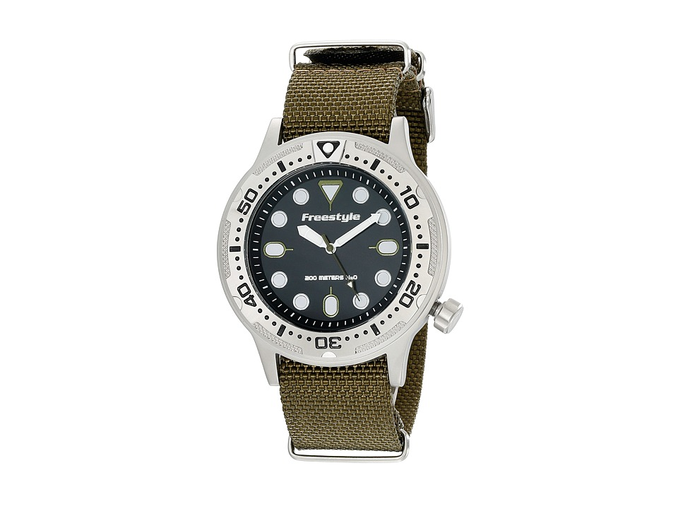 Freestyle Ballistic Diver Olive Watches