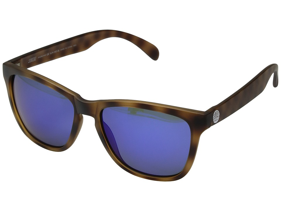 Sunski - Madronas (Tortoise/Blue) Sport Sunglasses