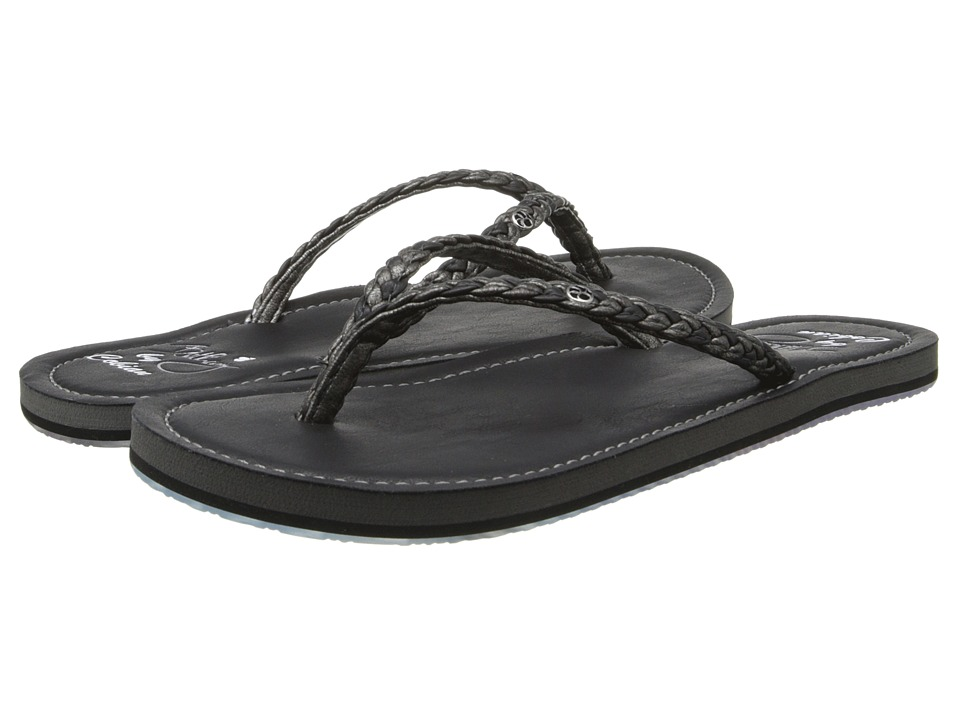 Cobian Bethany Pewter Womens Sandals