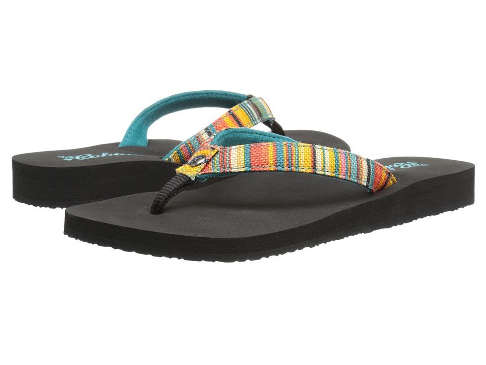 Cobian Fiesta Skinny Bounce Striped Womens Sandals