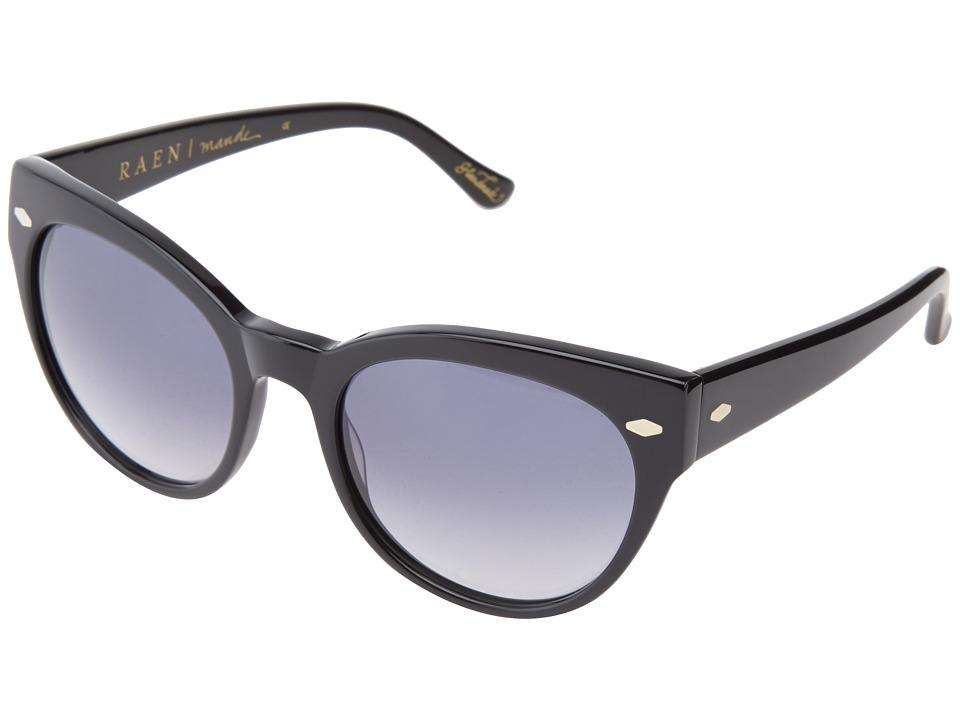 RAEN Optics Maude Black/Smoke Sport Sunglasses