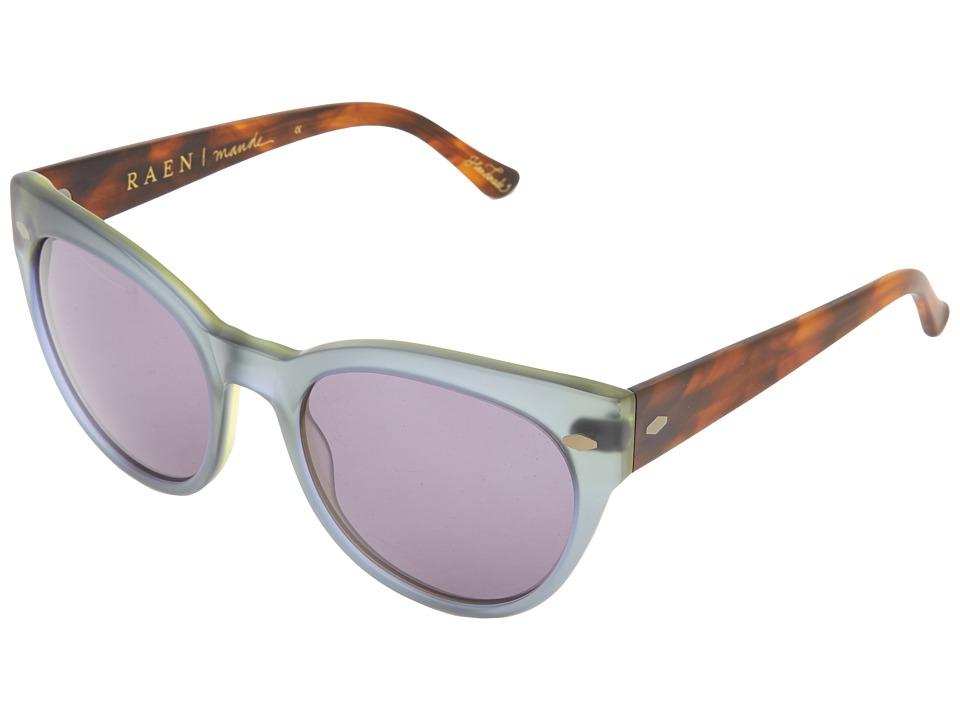 RAEN Optics Maude Matte Seaglass/Matte Rootbeer Sport Sunglasses