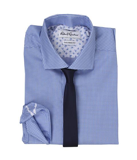 Robert graham x tailored fit brescia dress shirt sky for Tailored fit dress shirts