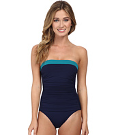 Tommy Bahama - Deck Piping Bandeau Cup One-Piece