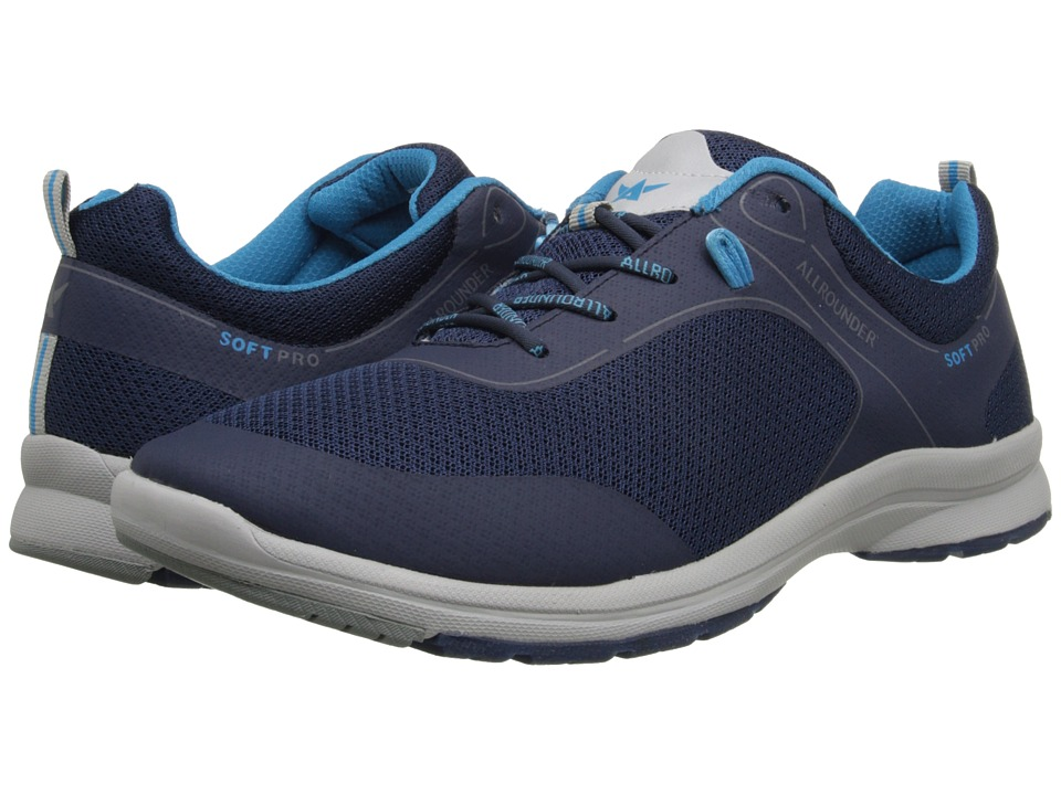 Allrounder by Mephisto Celano Ocean Air Mesh Mens Shoes