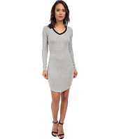 Brigitte Bailey - L/S Dress w/ Black Trim