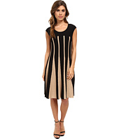NIC+ZOE - Linear Lines Twirl Dress