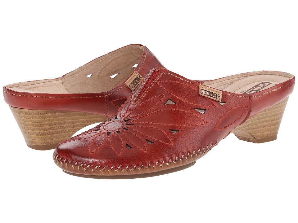 Pikolinos Bariloche W8A 0607 Sandia Womens Clog Shoes