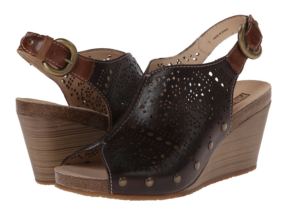 Pikolinos Benissa 868 9342 Olmo Womens Wedge Shoes