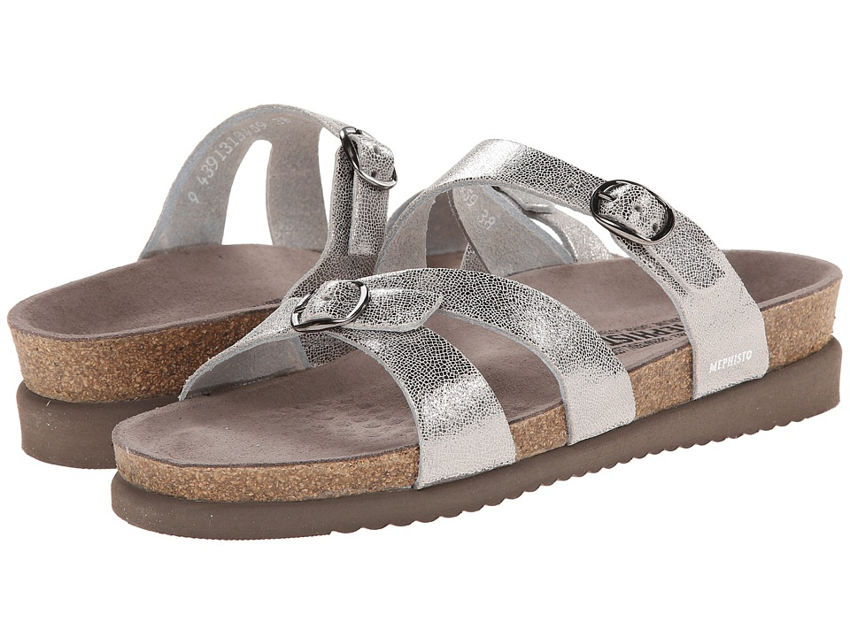 Mephisto Hannel (Silver Venise) Sandals
