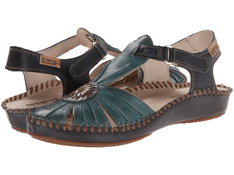 Pikolinos Puerto Vallarta 655 8899C1 Petrol Womens Sandals