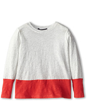Vince Kids - Slub Color Blocked Tee (Toddler/Little Kids)