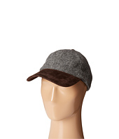 Stetson - Wool Blend Cap with Suede Peak