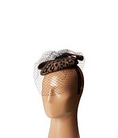 SCALA - Wool Felt Animal Print Fascinator