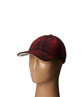 Woolrich - Heritage Plaid Ballcap w/ Sherpa Lining
